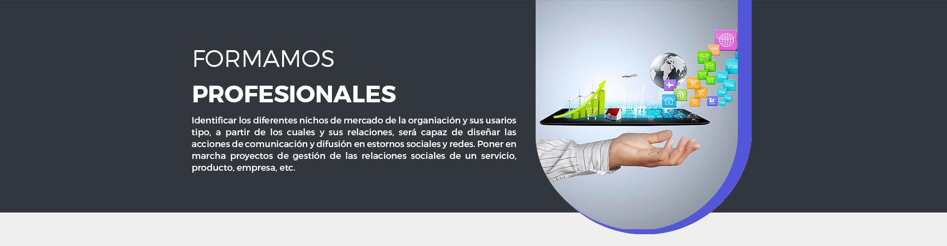 El Master Social Media para Community Managers te ayudará a identificar los nichos de mercaros de la organización y sus usuarios tipo, a partid de los cuales y sus relaciones, será capaz de diseñar acciones de comunicación efectivas en entornos y redes sociales.