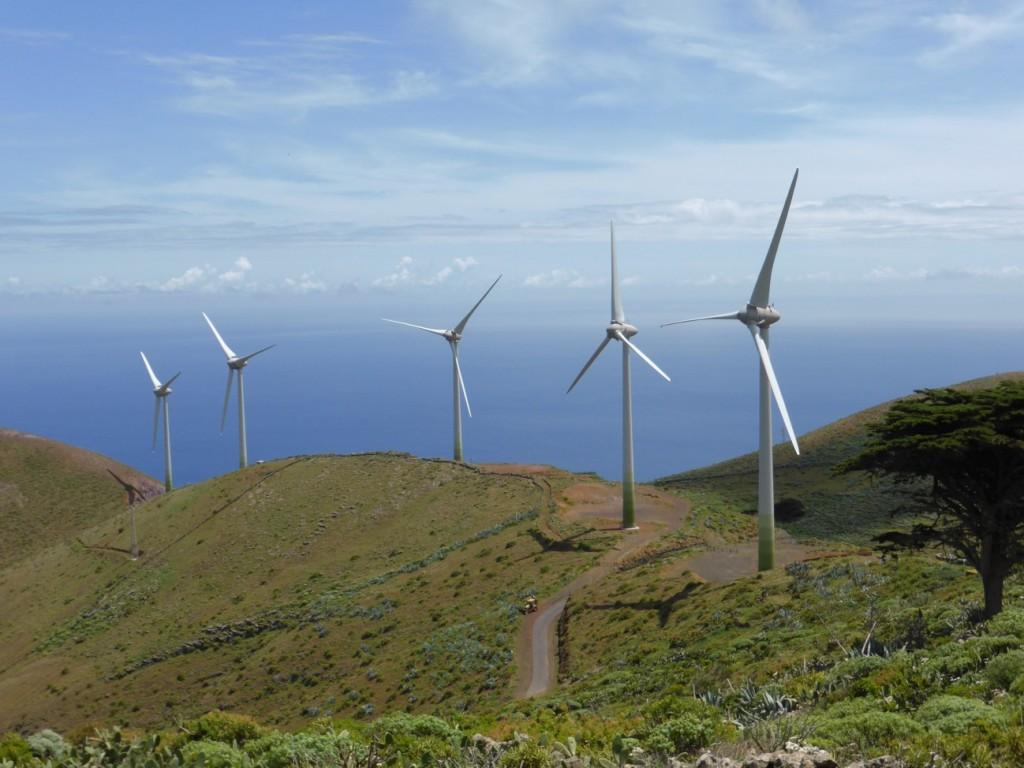 Energías renovables en Islas. Aerogeneradores, Eólica