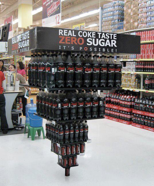 Ejemplo de Merchandising: Coca Cola
