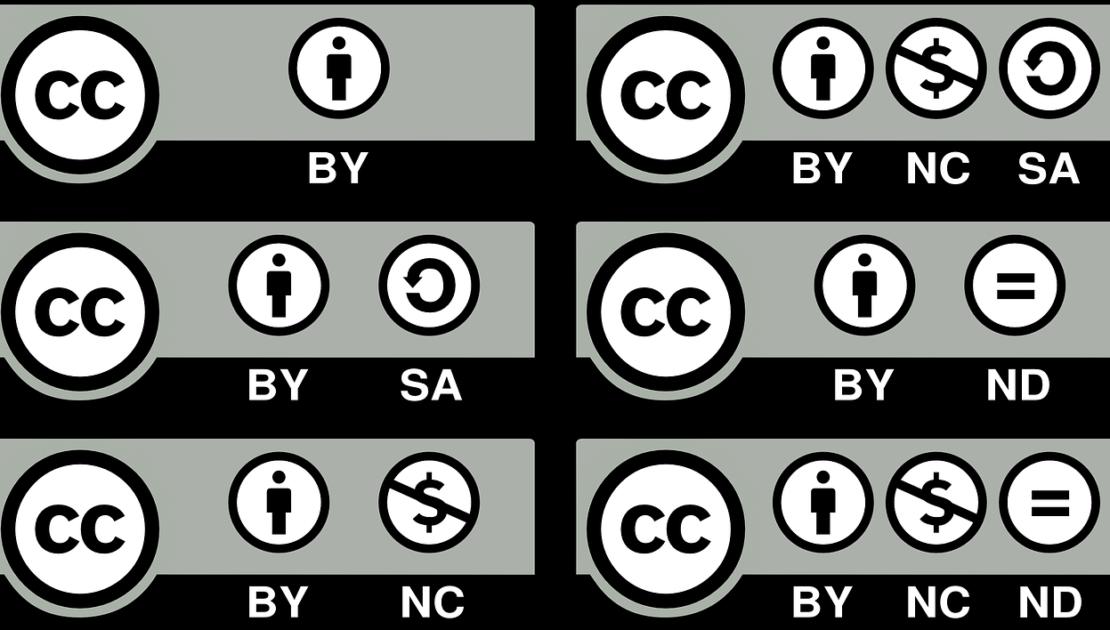 Los 6 Tipos De Licencias Creative Commons Ucav Eipe