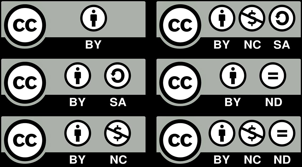 Los 6 tipos de licencias Creative Commons • UCAV EIPE