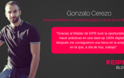 Entrevista a Gonzalo Cerezo, alumno del Máster en Marketing Digital de EIPE Business School