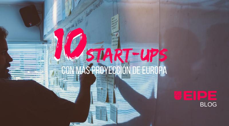 10 mejores startups de Europa