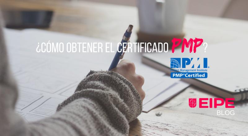 Como conseguir el certificado PMP del PMI