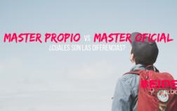 Diferencias entre master propio y master oficial ¿realmente importa?
